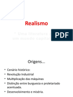 Slides Sobre o Realismo
