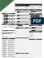 D&D - 4 edizione - Scheda del Personaggio