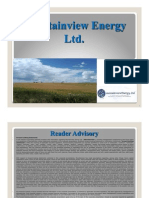 Mountainview Energy (MVW) - Corporate Presentation