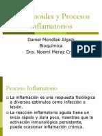 Eicosanoides y Procesos Inflamatorios