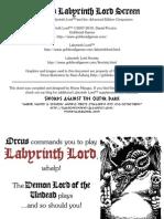 Advanced Labyrinth Lord Screen (v1.03)