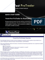Vector Vest Pro Trader Quick Start