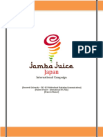 Jamba Juice International Campaign