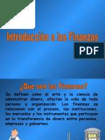 Finanzas Introducción