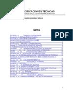 Especificaciones Tecnicas Hidrosanitarias