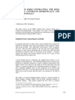 Standard Form Contracting for Fidic Contracts