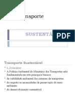 Transporte Susentavel Slide