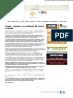 10-05-11 Aguas residuales, un problema de salud y ecología -Proyecto Puente