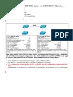 LAN #2 Switching and Wireless Exam Final Practice Grade 100