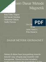Teori Dasar Metode Magnetik