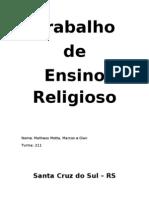 Trabalho - Liberdade Religiosa