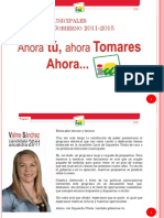 Programa Electoral IU 2011 Tomares
