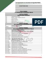 Proyecto Manual de Organizacion Ssp