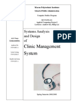 Clinic Dfd Context Diagram