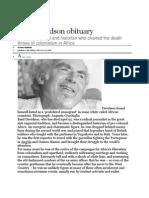 Basil Davidson Obituary