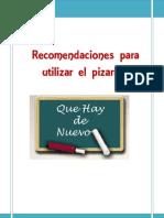 Recomendaciones Para Utilizar Pizarron