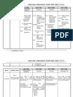 46498607 Weekly Plan Sk Kssr 2011 Year 1 Complete