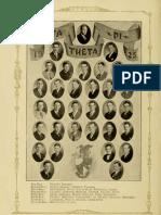 Ohio University 1892 Athena Yearbook- Beta Theta Pi Fraternity