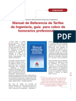 Manual Refer en CIA Tarifas