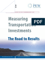 Pew Report Criticizes West Virginia's Transportation Planning
