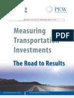 Pew Report Criticizes West Virginia's Transportation Planning