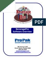 Beverage Pro Overview