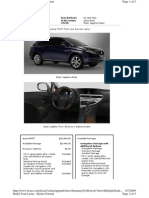 Lexus RX 350 FWD 2010 Model Black Sapphire Pearl Wit Black Leather Trim Brown Walnut Accent
