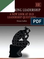 Rethinking Leadership