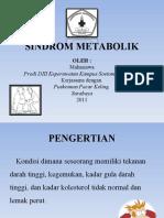 Penyuluhan Sindrom Metabolik