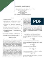 Problemas Resueltos de Analisis Numericos I