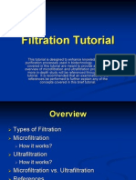Filtration Tutorial