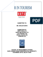 Report Hrm Toursim