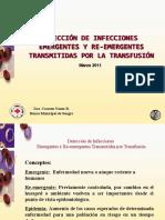 Infecciones Emergentes en Banco de Sangre