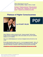 Plateaus of Higher Consciousness by STUART WILDE
