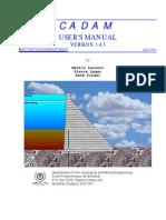 CADAM User Manual V1.4.3