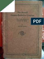 Walter Russell - Genero-Radiative Concept