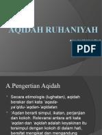 Aqidah Ruhaniyah