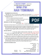 Shoftim - Selections from Rabbi Baruch Epstein