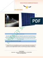 Brochure of Lights Energy Solution