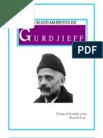 G. I. Gurdjieff - Los Mandamientos de Gurdjieff Ochenta y Tres Consejos de Gurdjieff a Su Hija Reyna D'Assia