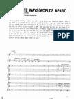 Journey - Separate Ways (Full Band Score)