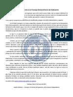 Breve presentación de postura Oi en C. Federación por las mov.