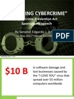 "Cybercrime Prevention Act Sponsorship Speech - ""Quashing Cybercrime"" (05.11.2011)"