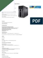 PowerEdge 11G T610 Tower Server Details | Dell