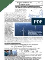 Baltic 1-Windpark in der Ostsee