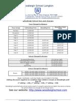 Woodleigh School Fees