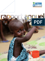 Rapport Annuel 2009 ACF-Espagne