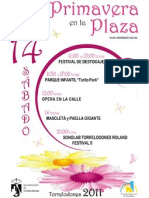 #Torrelodones Primavera en La Plaza. Sábado 14 de mayo. Actividades