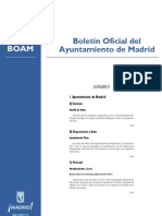 Modificación Ordenanza Taxi de Madrid. Acuerdo Regulación Horaria