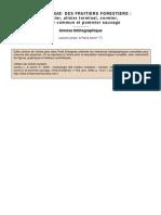 Autoécologie des fruitiers forestiers